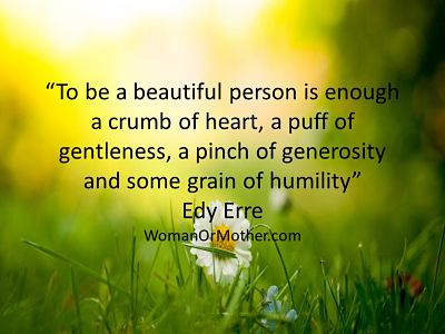 Aphorisms To be a beautiful person is enough Edy Erre