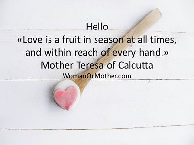 Hello Love is a fruit in season at all times, and within reach of every hand