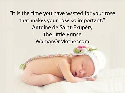 Aphorisms It is the time you have wasted Antoine de Saint-Exupery, The Little Prince